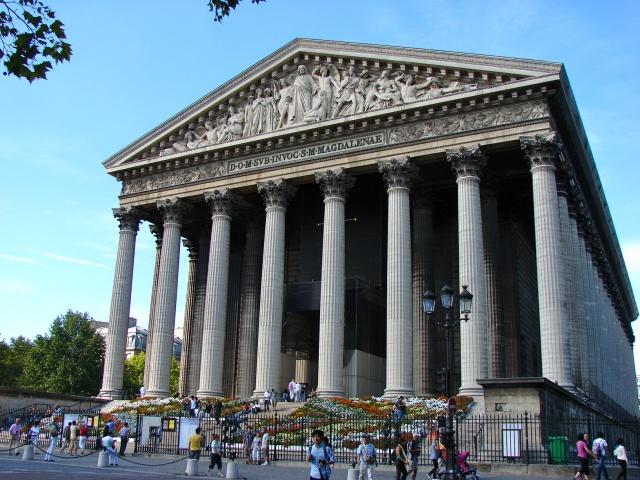 L'église de la Madeleine (Paris)