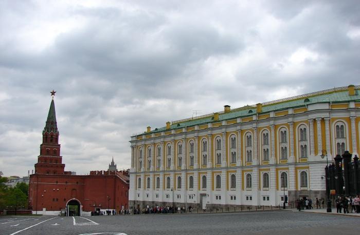 Moscou, le Kremlin (Fin)