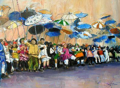 Les artistes et le carnaval de Dunkerque