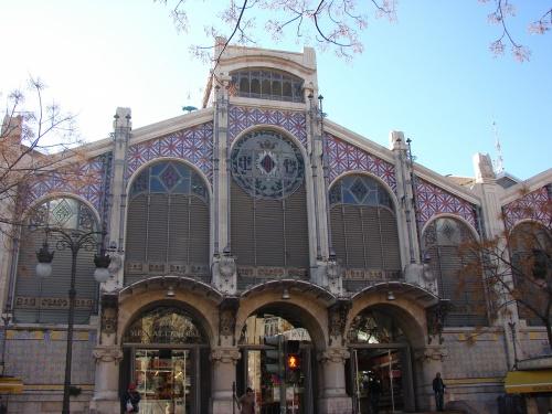 Le marché de Valence.