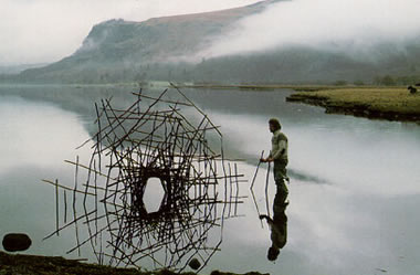 Andy Goldsworthy, chef de file du Land Art