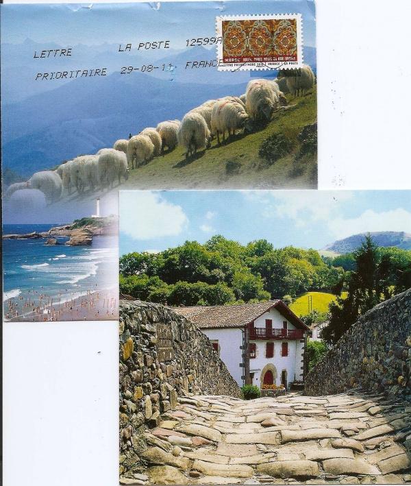 Amitié et cartes postales
