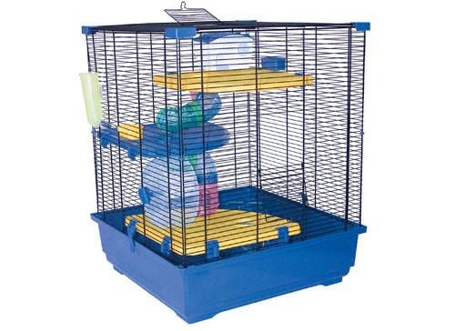 Le hamster russe cages - La plus grande cage a hamster du monde ...