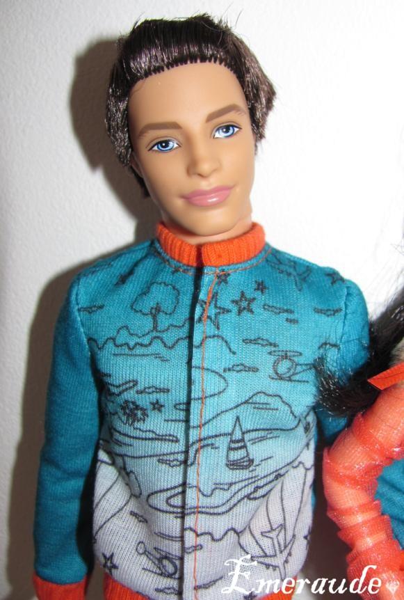 Barbie Fashionistas Raquelle + Ken Cutie et Sporty
